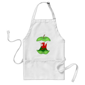 'to the core' Wales Standard Apron