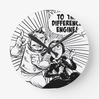 To The Difference Engine Panel Clocks