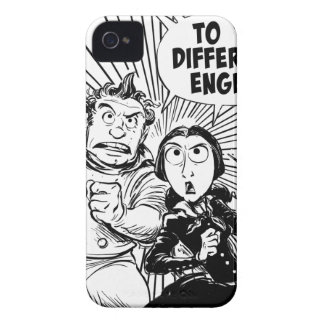 To The Difference Engine Panel iPhone 4 Covers