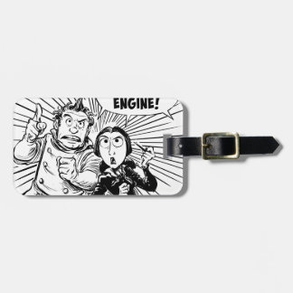 To The Difference Engine Panel Luggage Tag