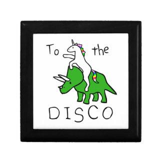 To The Disco (Unicorn Riding Triceratops) Gift Box