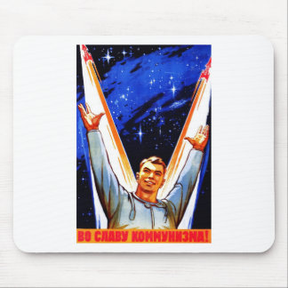 To The Glory of Communism Mouse Mat