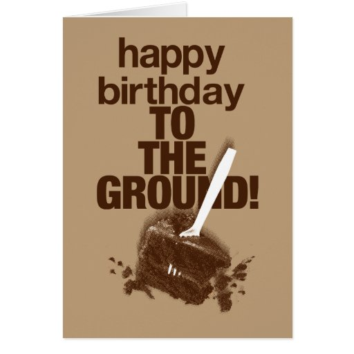 To the Ground 2 Greeting Cards
