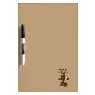 To the Ground Dry Erase Boards
