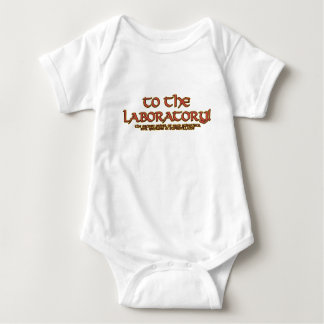 To the Laboratory! Infant Onsies Baby Bodysuit