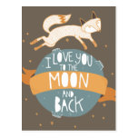 """To the moon and back"" Post Cards"