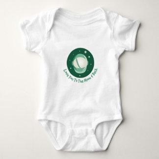 To The Moon Baby Bodysuit