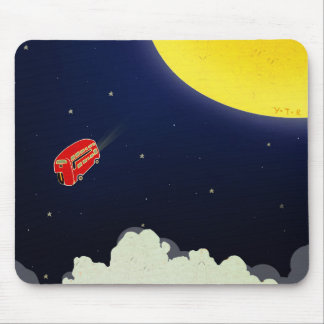 To the moon mouse mat