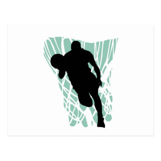 To the Net Basketball Tshirts and Gifts Postcard