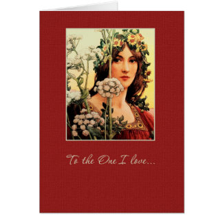 To the One I Love. Fine Art Valentine's Day Cards