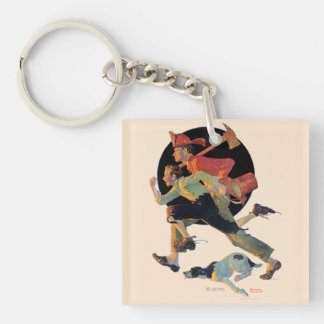 To the Rescue Key Ring