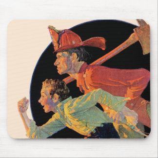 To the Rescue Mouse Mat