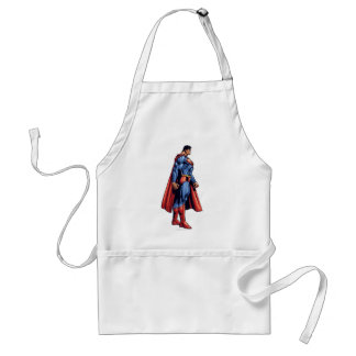 To the right standard apron