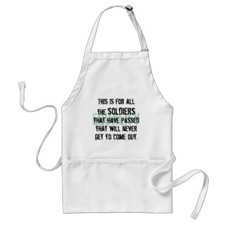To the Soldiers Standard Apron