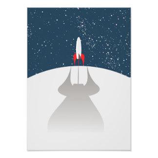 To The Stars! Photographic Print
