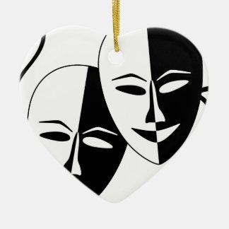 To the Theatre Ornament