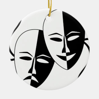 To the Theatre! Christmas Tree Ornament