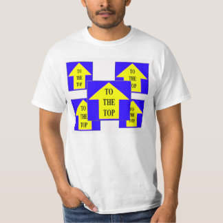 TO THE TOP (BLUE), TO THE TOP (BLUE) T-SHIRTS
