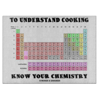 Periodic table chopping boards - Periodic table chopping board ...
