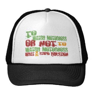 To Watch Motocross Mesh Hats