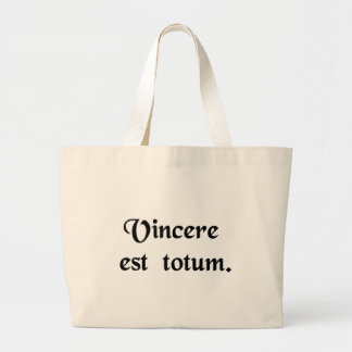 To win is everything bag