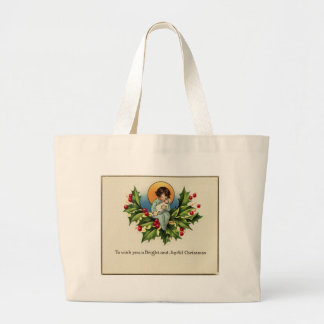 To Wish You a Bright and Joyful Christmas Jumbo Tote Bag
