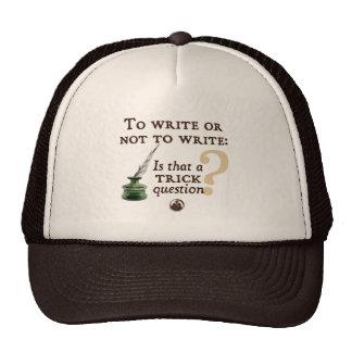 To Write or Not to Write Cap