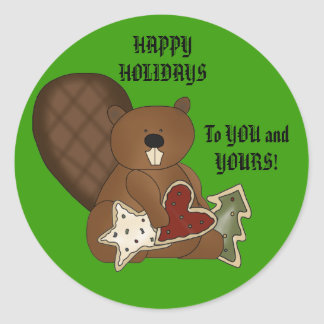 To YOU and YOURS Round Stickers