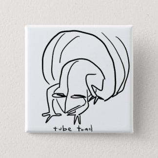 toad 15 cm square badge