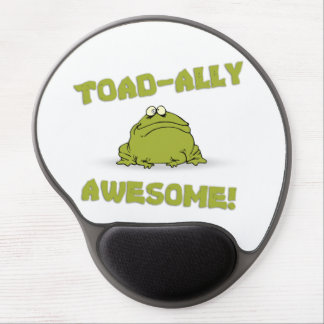 Toad-ally Awesome Gel Mouse Mat