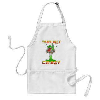 Toad-ally Crazy Standard Apron