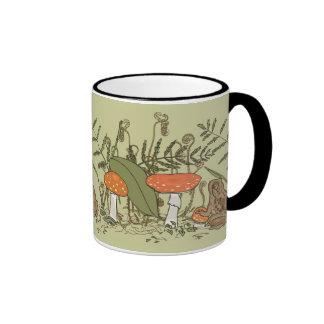 Toad and Toadstools Ringer Mug