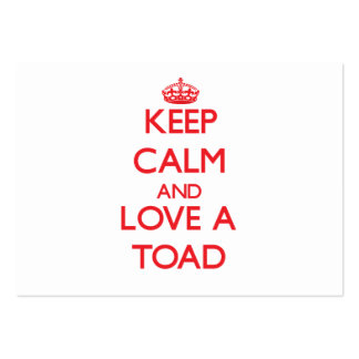 Toad Business Card