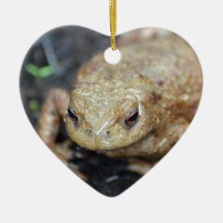 Toad Ceramic Heart Decoration