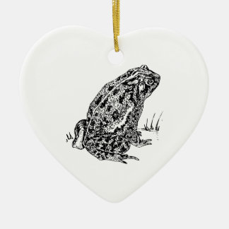 Toad Ceramic Heart Decoration