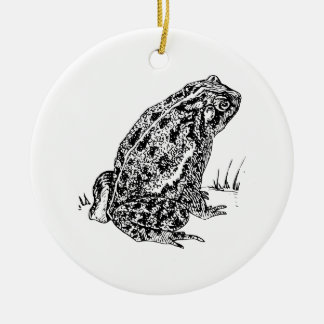 Toad Christmas Ornament