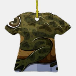 Toad Ceramic T-Shirt Ornament