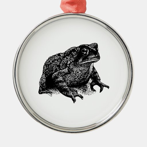 Toad Christmas Tree Ornament
