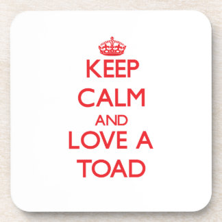 Toad Drink Coaster