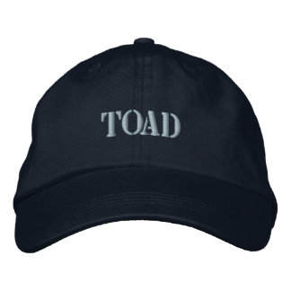 TOAD EMBROIDERED HAT