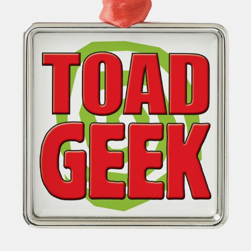 Toad Geek Christmas Tree Ornaments