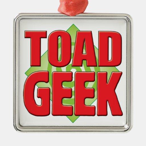 Toad Geek v2 Christmas Tree Ornaments