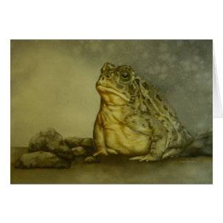 Toad Greeting Card (blank)