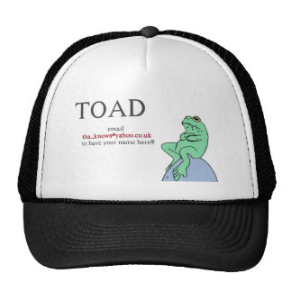 Toad Mesh Hat