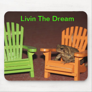 Toad in a Chair Mouse Mat