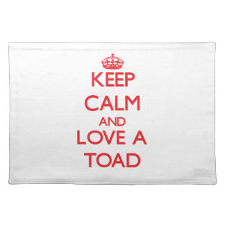 Toad Place Mats