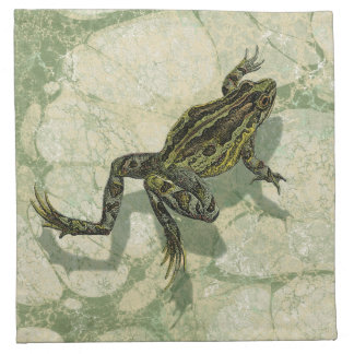 Toad Swinning in the Water Napkin