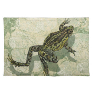 Toad Swinning in the Water Placemat