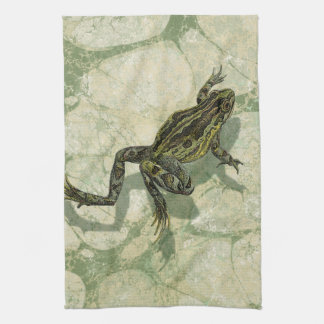 Toad Swinning in the Water Tea Towel