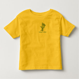 """Toad """"Toadays"""" Toddlers Tee Shirt"""